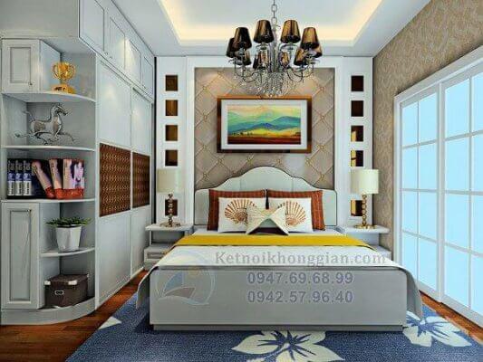 Thiết kế phòng ngủ chung cư 56m2