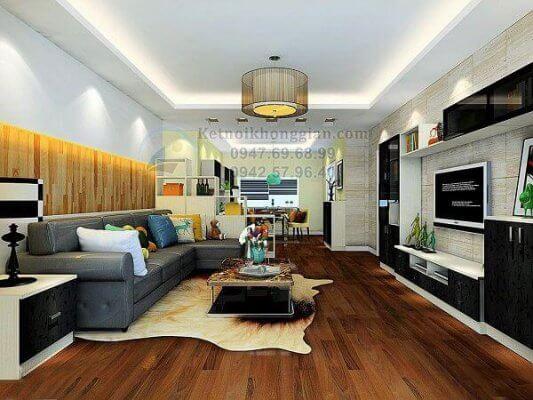 Thiết kế nội thát chung cư 70m2