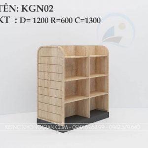 Kệ sách giữa nhà KGN02