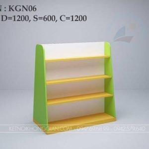 Kệ sách giữa nhà KGN06