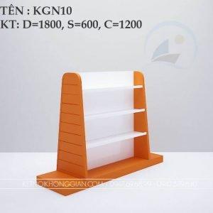 Kệ sách giữa nhà KGN10