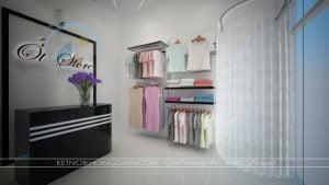shop thời trang 15m2