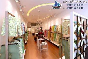 Thiết kế cửa hàng thời trang 80m2