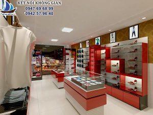 Thiết kế shop thời trang 32m2